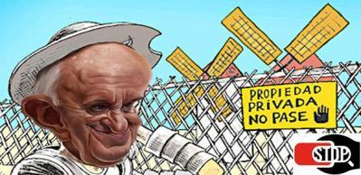 propiedad privada Papa derecho relativo
