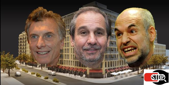 Nicolás Nicky Caputo, Mauricio Macri, Horacio Rodríguez Larreta
