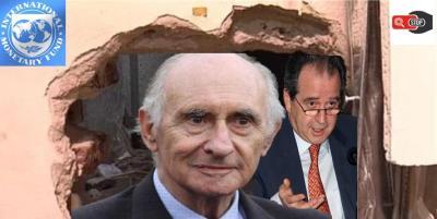 FMI, De la Rua, Machinea, Blindaje, vaciamiento bancos