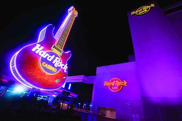 Est Strip Hard Rock Hotel Casino