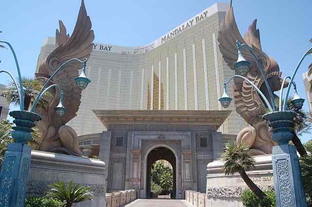 Entrée Mandalay Bay Hotel Las Vegas