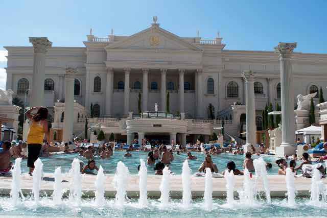 Piscine Caesars Palace Hotel Las Vegas