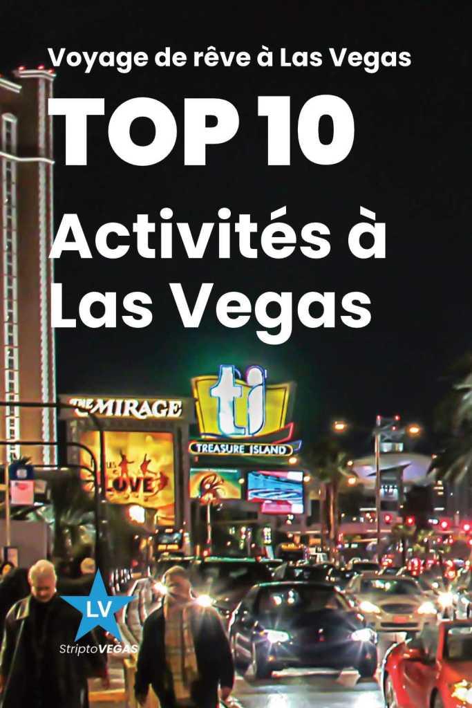top 10 activites las vegas