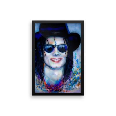 Image of Michael Jackson - framed print