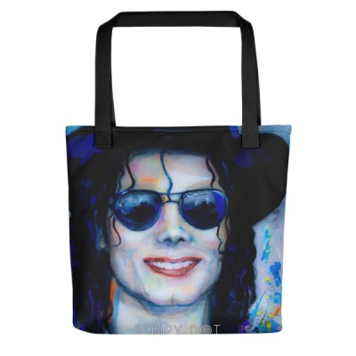 Michael Jackson-Tote Bag