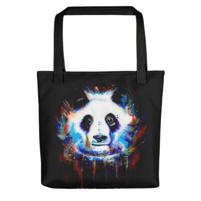Image of Lloyd Panda - Tote Bag by Stripy Dot