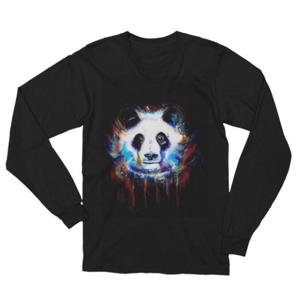 Panda Pete American Apparel Cotton T-shirt image