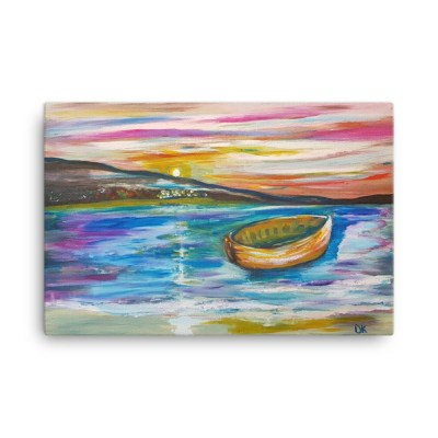 "Image of Drifting - 24"" x 36"" - Canvas Wall Art - By artist Deborah Kala"