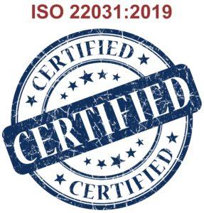 Certificação ISO 22301