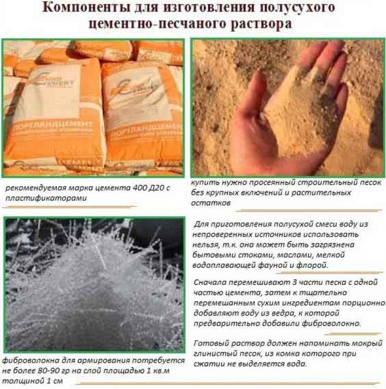 Чем перемешивают цементный раствор вид уплотнения бетона
