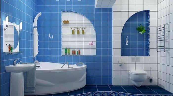 декор ванной