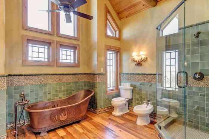 Кантри в ванной