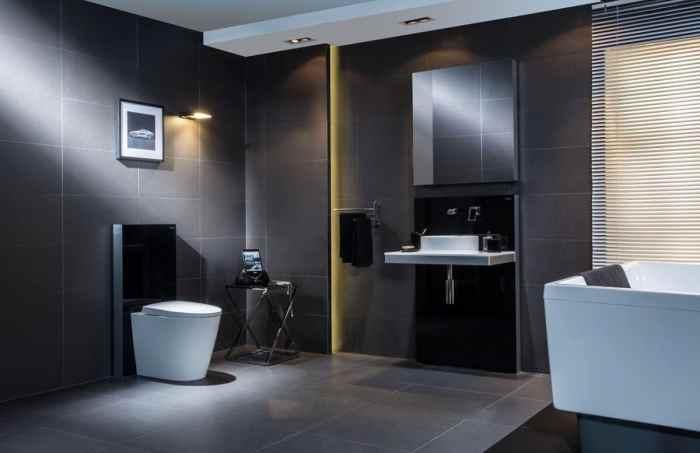 Примеры инсталляции в ванной комнате-4