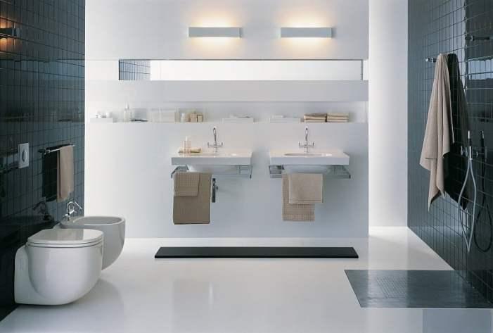 Примеры инсталляции в ванной комнате-5