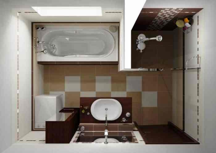 Расстановка оборудования в ванной