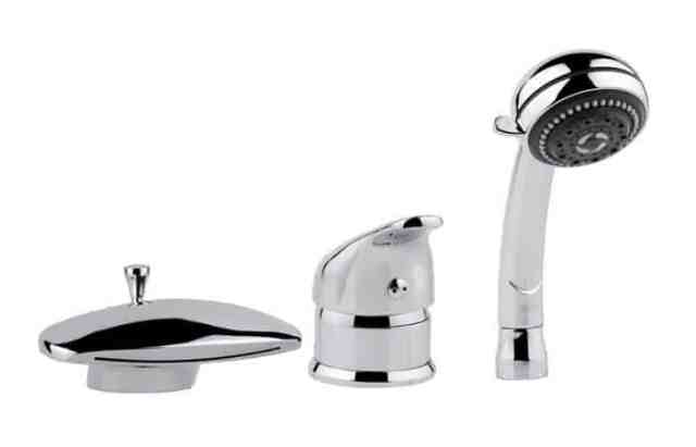 Виды смесителей для ванны