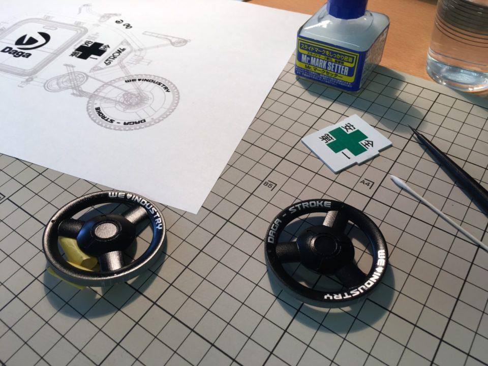STROKEカーゴトライク(3輪カーゴバイク)ミニチュアモデル製作06