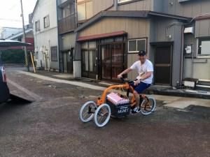 STROKEカーゴトライクを新潟県燕三条へ!ゲリラ試乗会開催