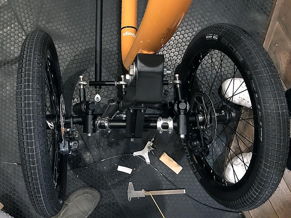 STROKE Cargo Trike試作3.5号機最終組立01