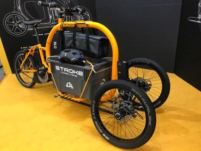 カーゴバイクSTROKEをBicycleCityExpoへ展示05