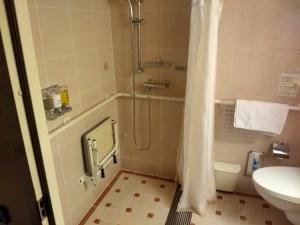 ms Oosterdam Cabin 1011 shower