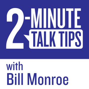 2-Minute Talk Tips logo
