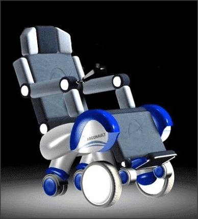 Hovering Steprover Wheelchair