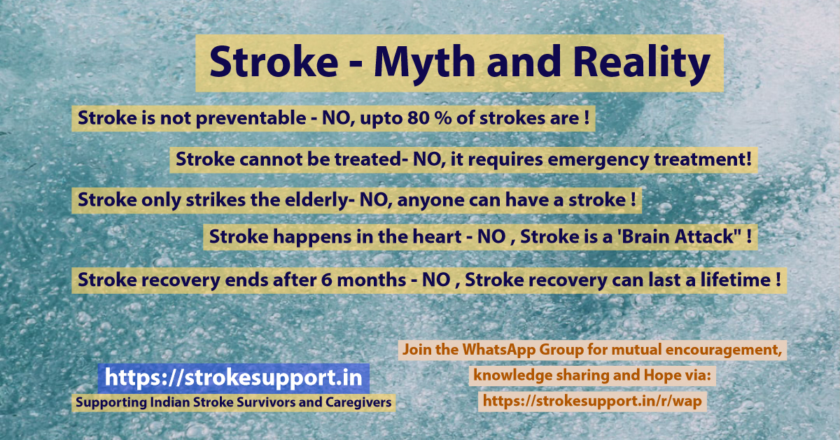 Stroke - Myths and Reality