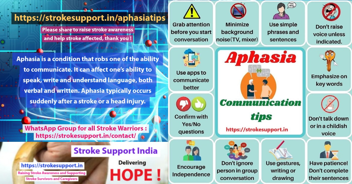 Aphasia Tips