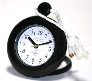 Product image of waterproof shower clock on rope