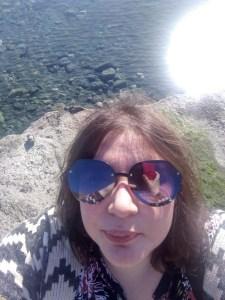 Kasia - lewaczka.pl na Cyprze. selfie