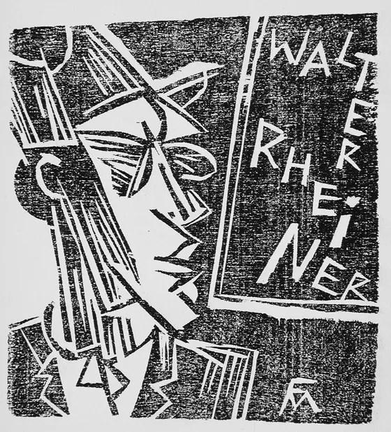 walter rheiner conrad felixmüller kokain gedichte gedichter berlin
