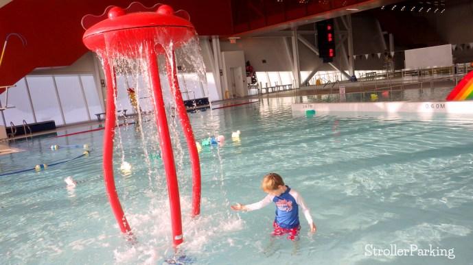 saint laurent multipurpose sports complex pool strollerparking