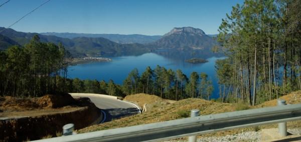Aussicht Lugu Lake