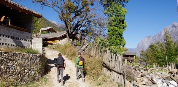 Tiger Leaping Gorge Dörfer