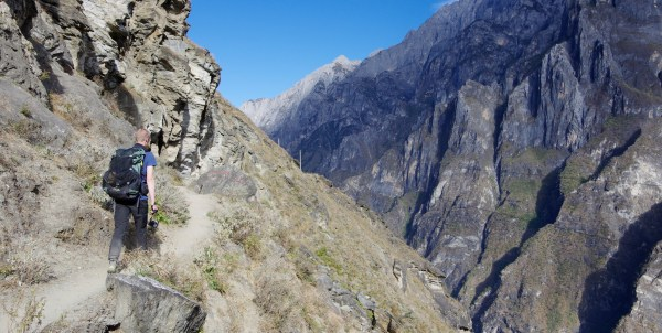 Tiger Leaping Gorge Weg (1)