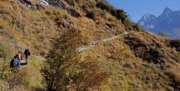 Tiger Leaping Gorge Weg