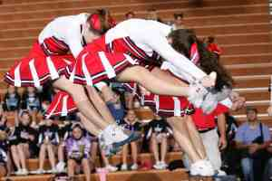 TBI is serious, and cheerleaders are vulnerable to concussion too