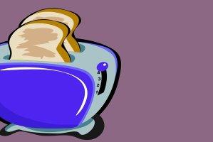Stromsparender A+++ Toaster