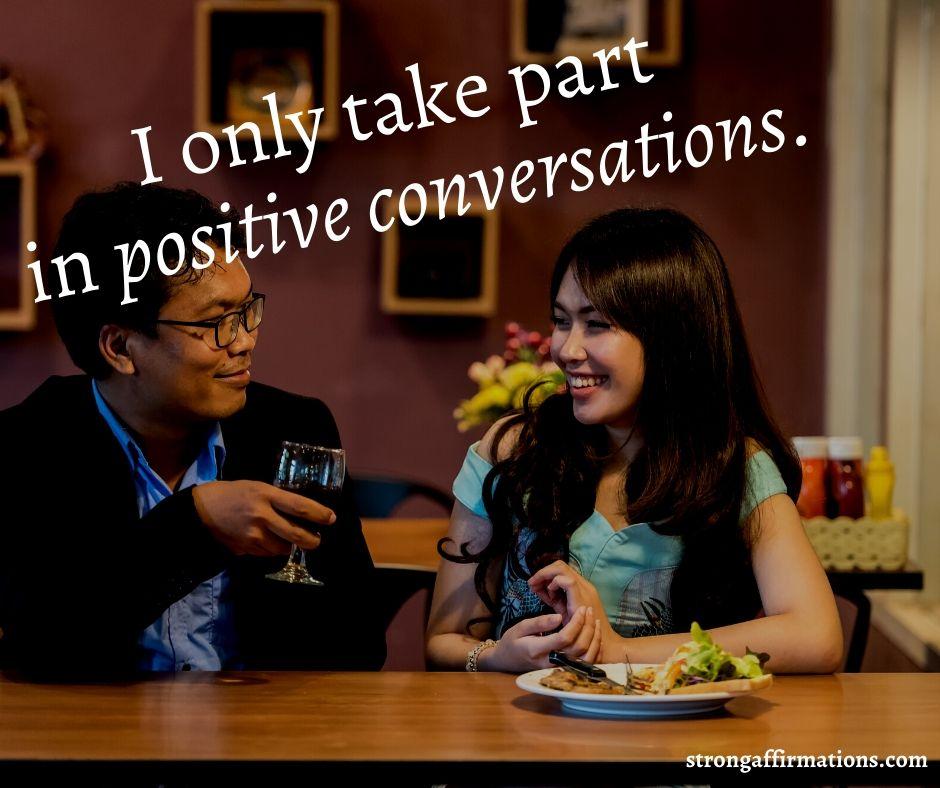 Communication affirmations (19)