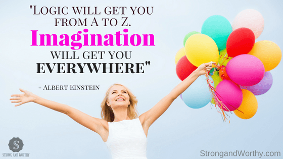Gina Bello: Imagination and the Power of Your Trance on Strongandworthy.com www.strongandworthy.com