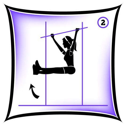 Circuit 1 Core Hanging Leg Raise 2