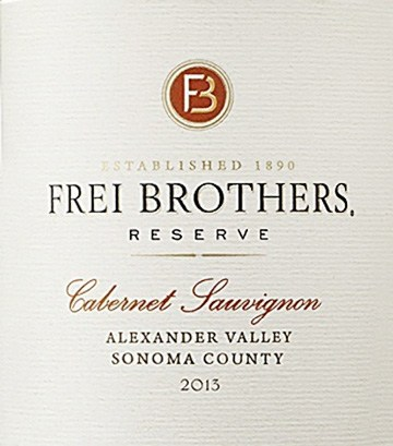 American wine label