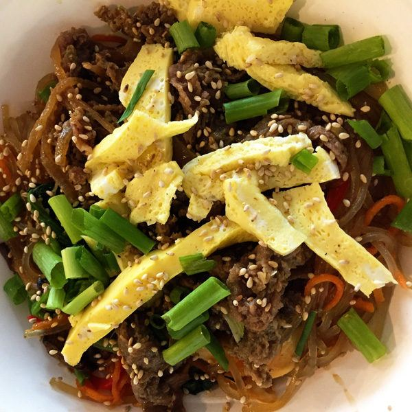 workshop Kite Noodle japchae