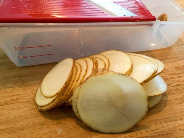 potato stacker