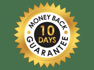 10 days money back