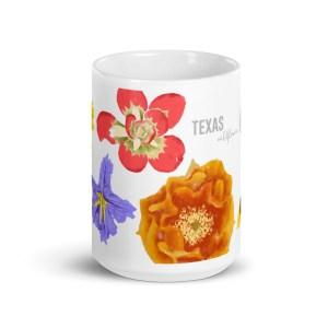 Texas Wildflower Mug 15oz