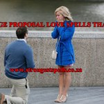 Marriage proposal love spells that work