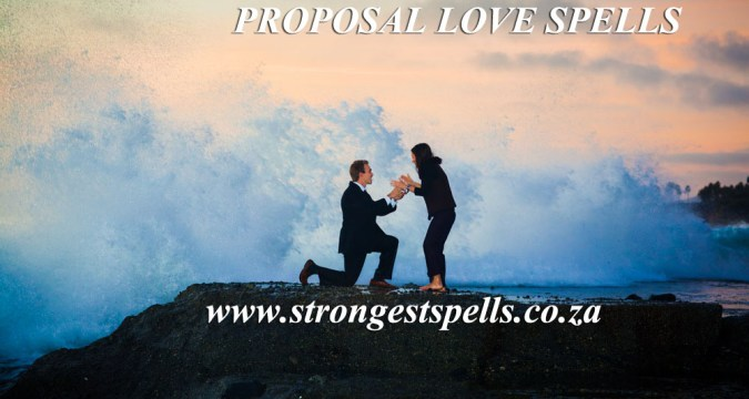 Extremely powerful marriage proposal love spells