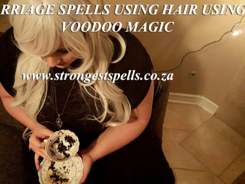 Marriage spells using hair using voodoo magic